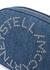 Stella Logo blue denim belt bag - Stella McCartney