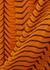 Adair tiger-print silk-chiffon trousers - Diane von Furstenberg