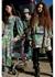 Floral-print asymmetric midi dress - Natasha Zinko