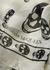 Ivory skull-print silk scarf - Alexander McQueen