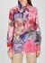 Floral-print silk crepe de chine blouse - Valentino