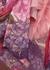 Pink floral-print silk-chiffon gown - Valentino