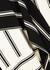 Monochrome striped jersey midi dress - MONSE