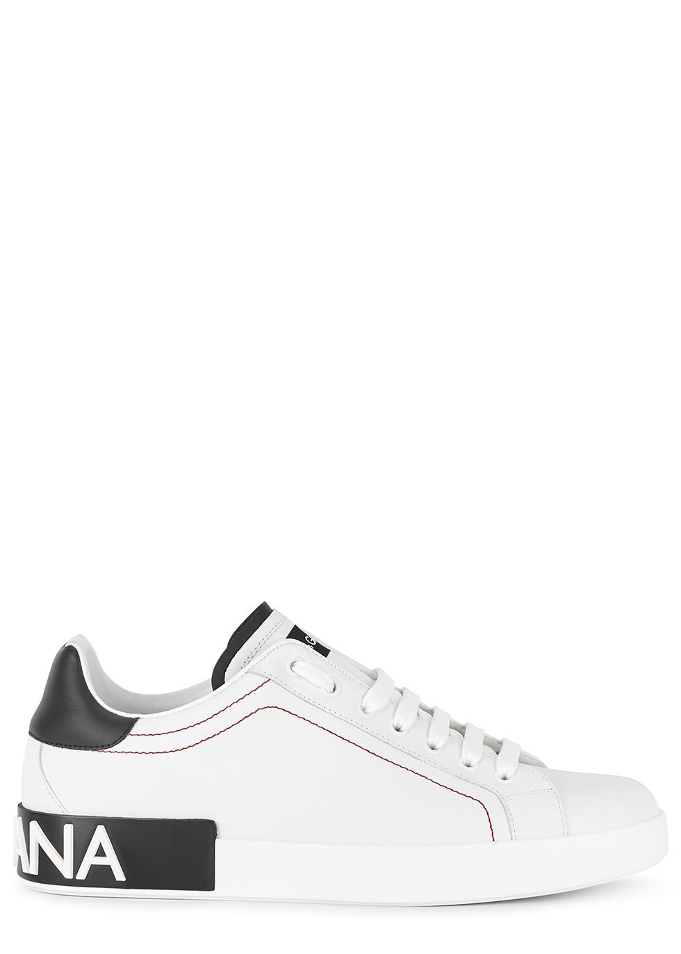 Portofino white leather sneakers