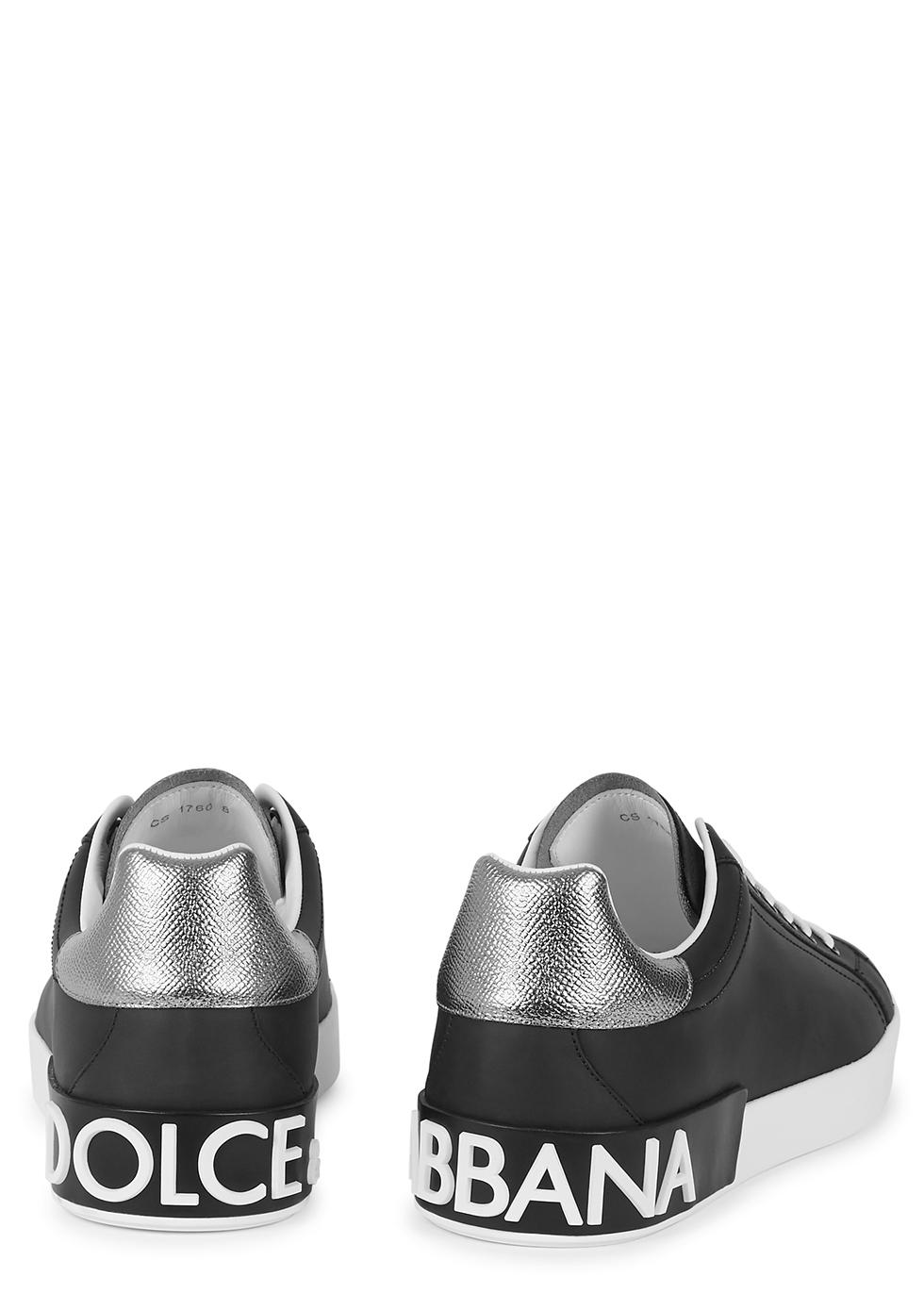 Dolce & Gabbana Portofino black leather