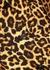 Dew leopard-print cotton shirt dress - Dries Van Noten