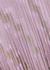 Zigzag metallic-weave plissé midi skirt - M Missoni