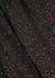 Black sequin-embellished wide-leg trousers - M Missoni
