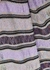 Striped wide-leg metallic-knit trousers - M Missoni