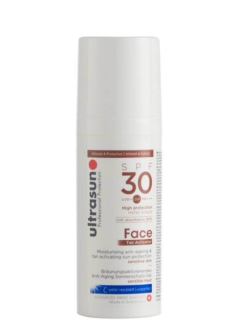 Ultrasun Face Tan Activator Spf30 50ml