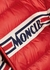 Renald red quilted shell jacket - Moncler