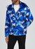 Vidourle blue camouflage shell jacket - Moncler