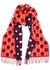 GG and star-intarsia wool scarf - Gucci