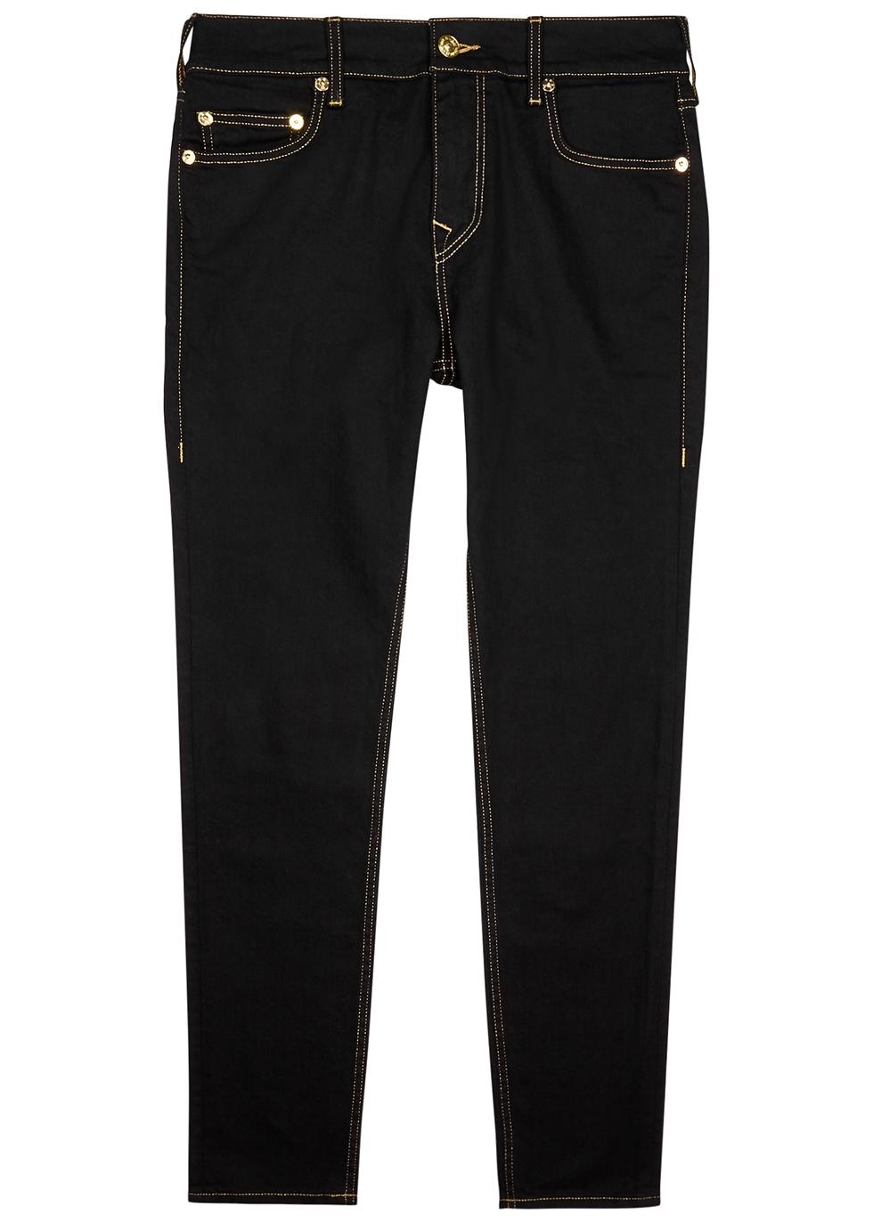 Jack No Flap black slim-leg jeans