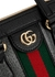 Ophidia GG small leather top handle bag - Gucci