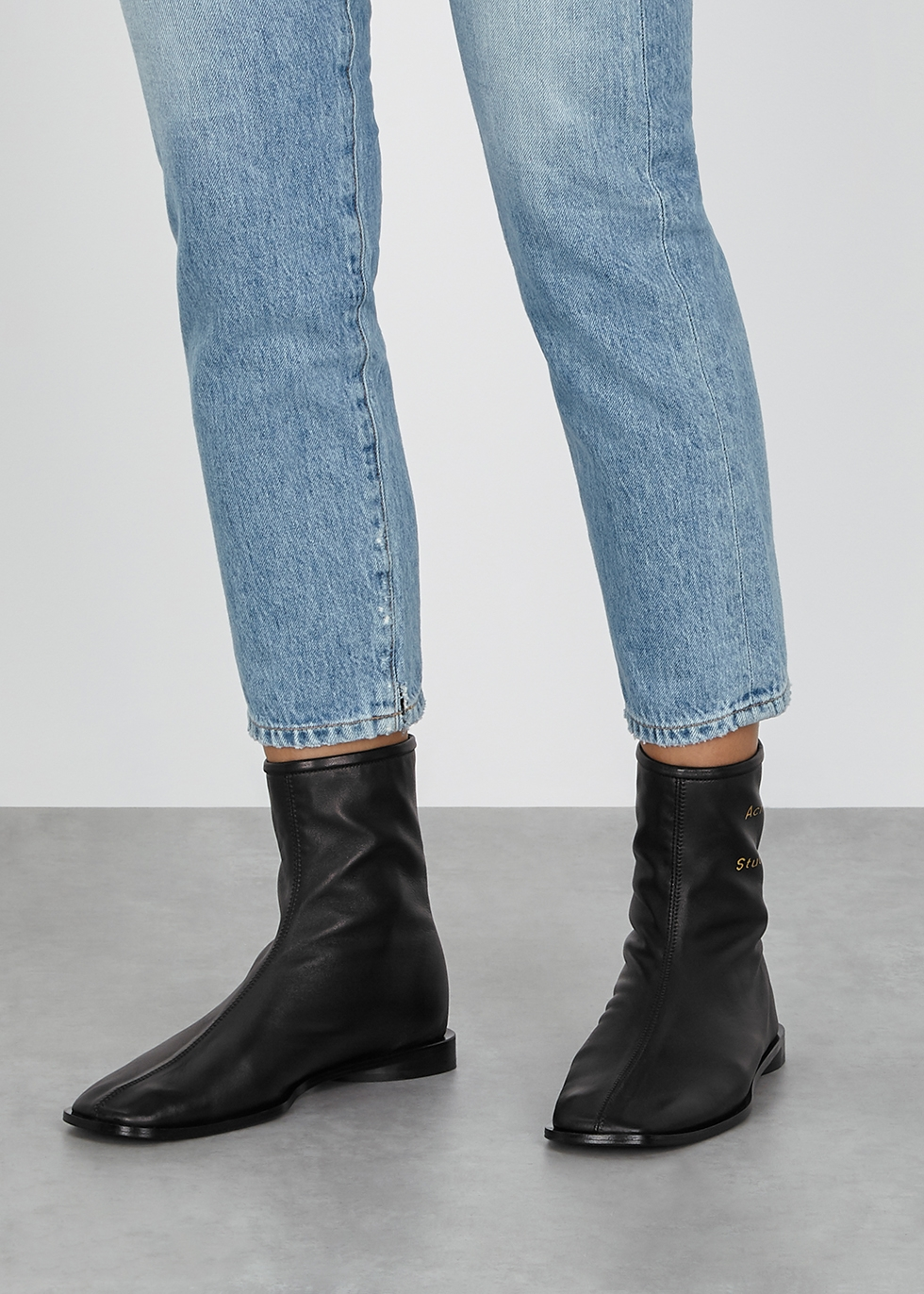 acne rider low boots