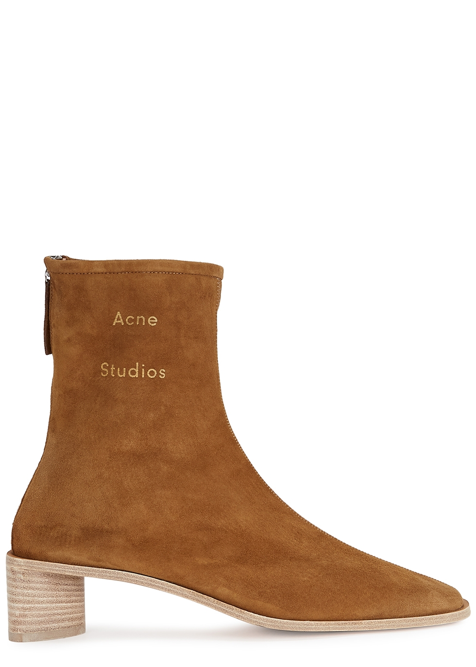 45 brown suede ankle boots