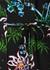 Black floral-print shirt dress - Kenzo