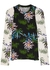 Floral-print stretch-jersey top - Kenzo