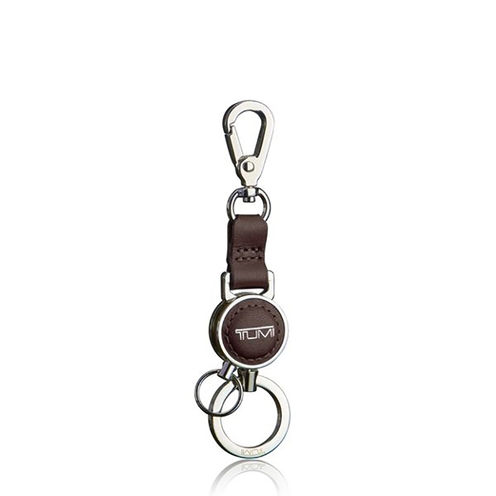 LEATHER KEY FOB KEY RING Multiple Key Holder Black
