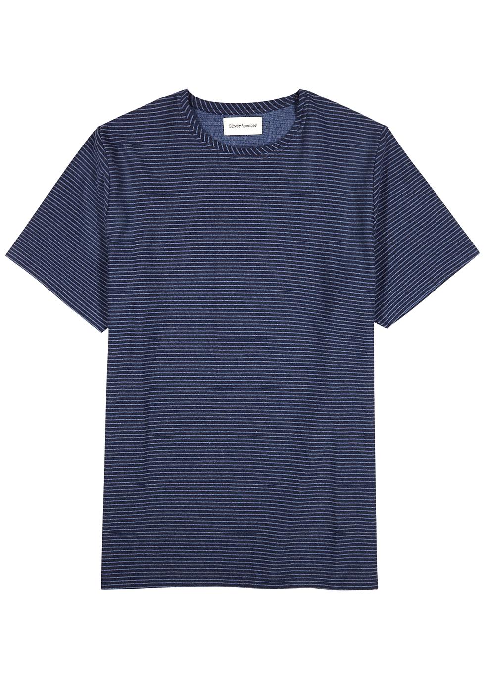 Conduit striped cotton T-shirt