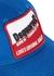 Blue logo-appliquéd twill cap - Dsquared2