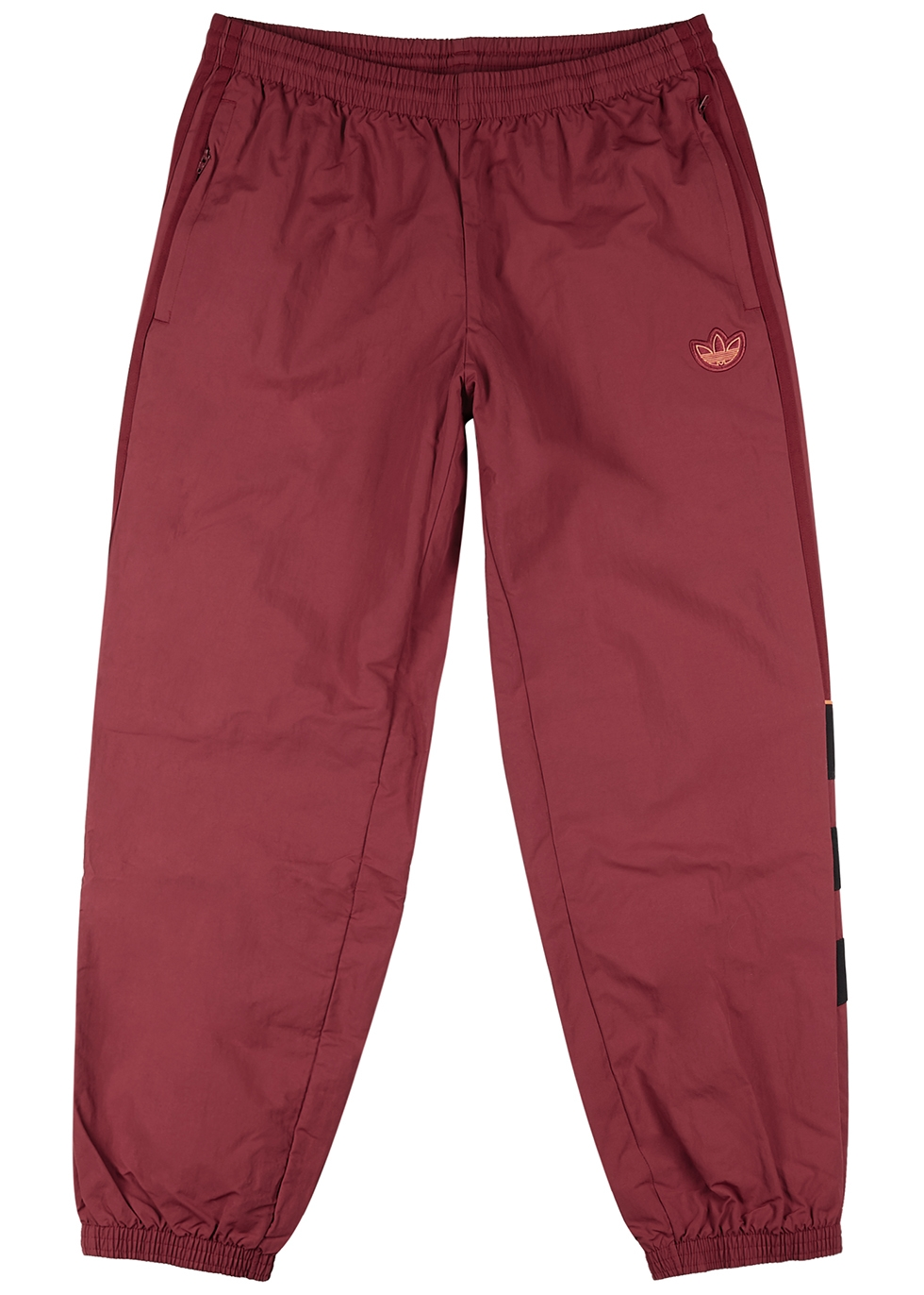 BLNT 96 dark red shell sweatpants