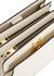 Trunk Reverse ivory leather shoulder bag - Marni