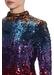 Sequin bell sleeve dress - Aidan Mattox