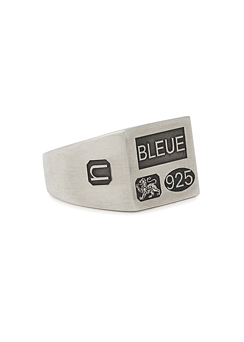 The Grandfather sterling silver signet ring