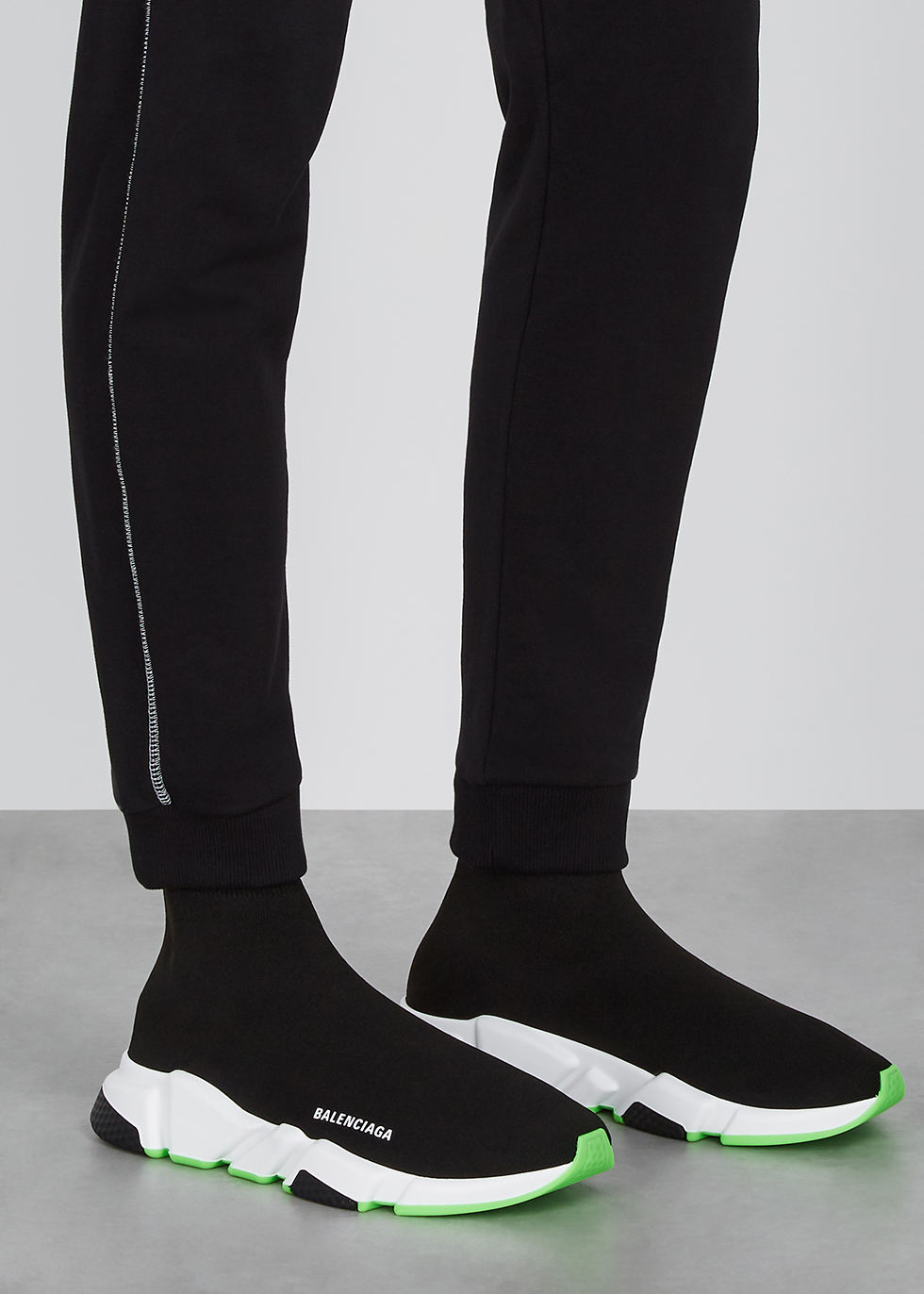 Balenciaga Speed black stretch-knit