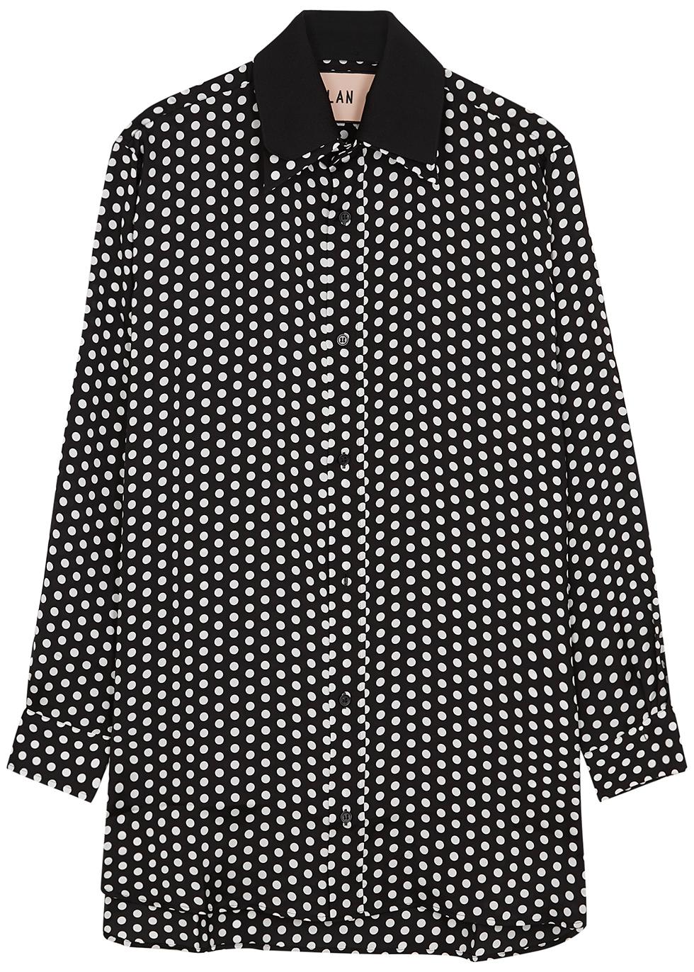 Polka-dot print shirt