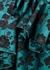 Floral-jacquard satin-twill mini dress - MARQUES' ALMEIDA