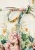 Wavelength floral-print linen mini dress - Zimmermann