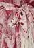 Wavelength printed silk midi dress - Zimmermann