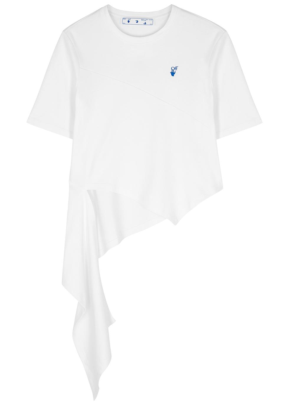 DNA Spiral white cotton T-shirt