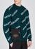 Black logo-embroidered cross-body bag - Balenciaga