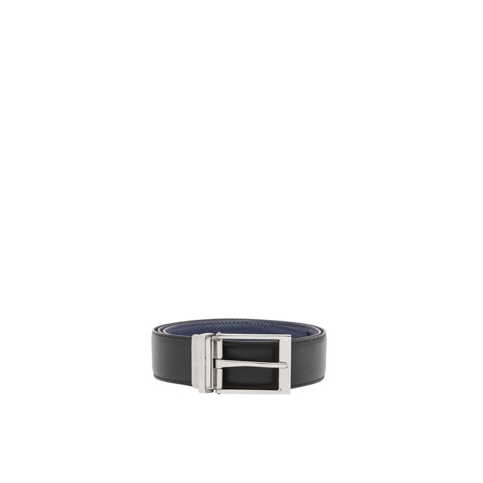 Burberry Reversible Grainy Leather Belt