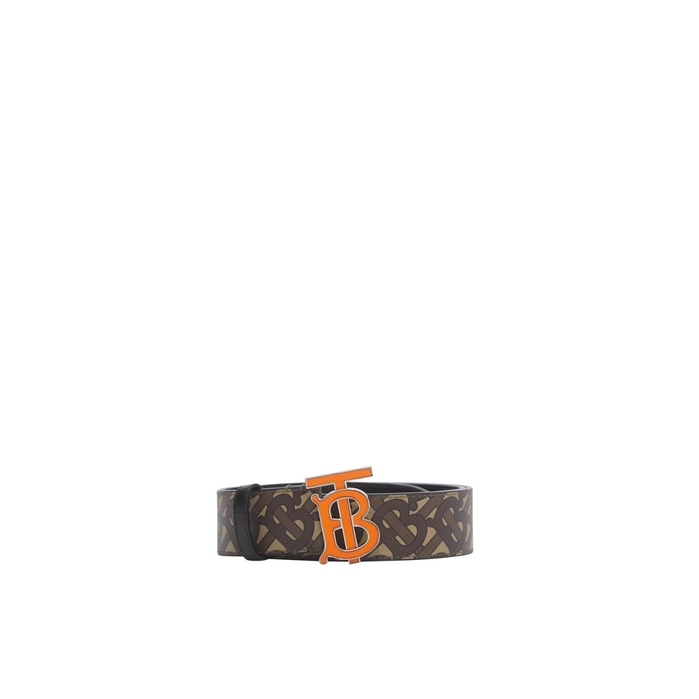 Burberry Monogram E-canvas Belt