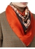 Archive scarf print silk square scarf - Burberry