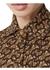 Pleated monogram print jersey tie-waist shirt dress - Burberry