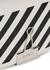 Diag mini white leather cross-body bag - Off-White