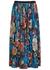 Saram blue floral-print midi skirt - Dries Van Noten