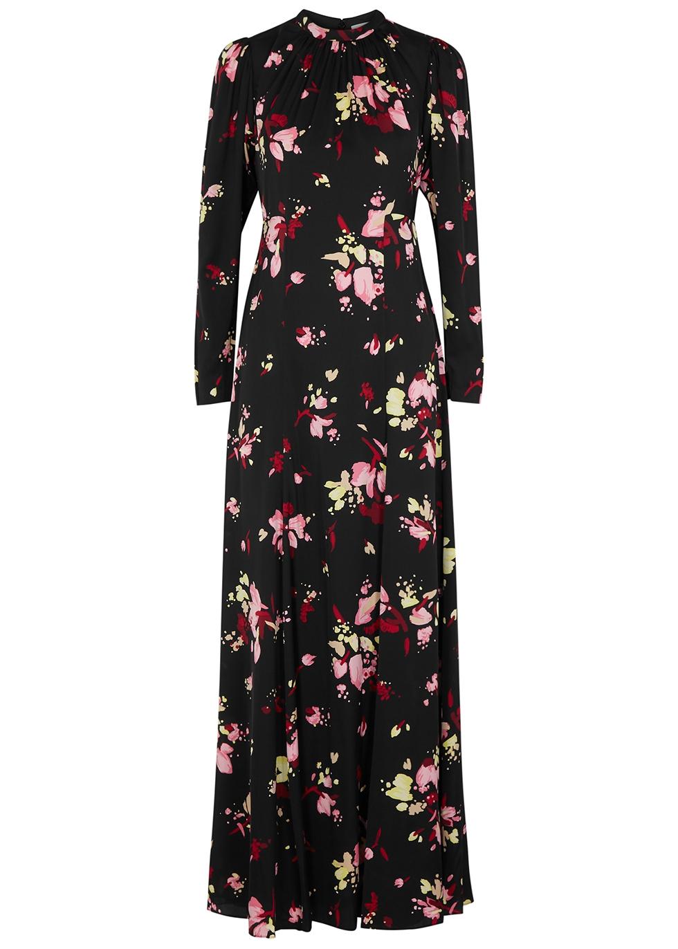 Murray floral-print silk maxi dress