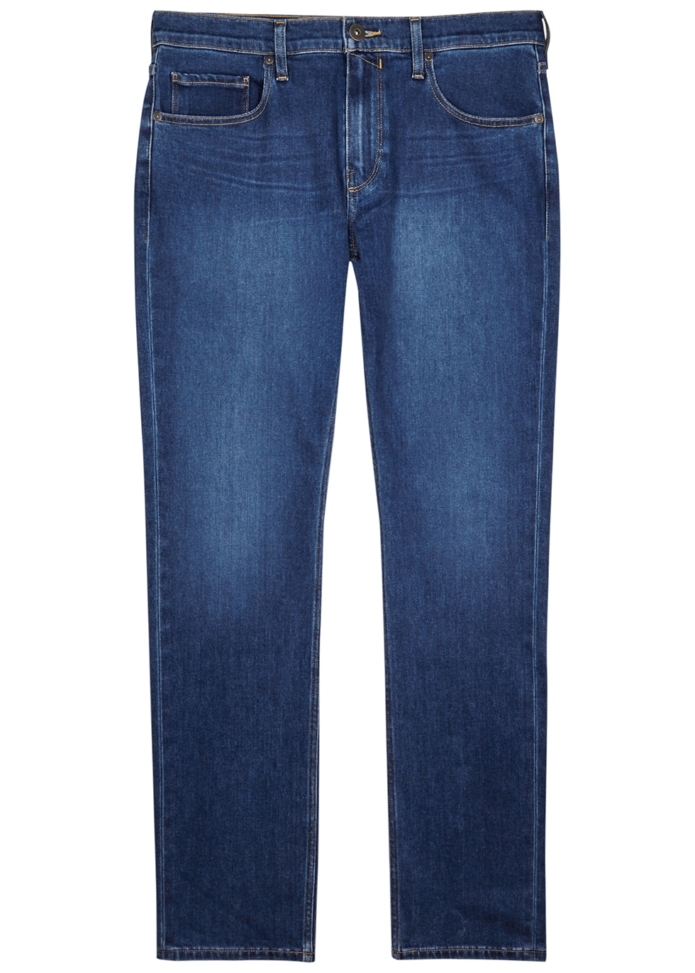 Federal blue straight-leg jeans