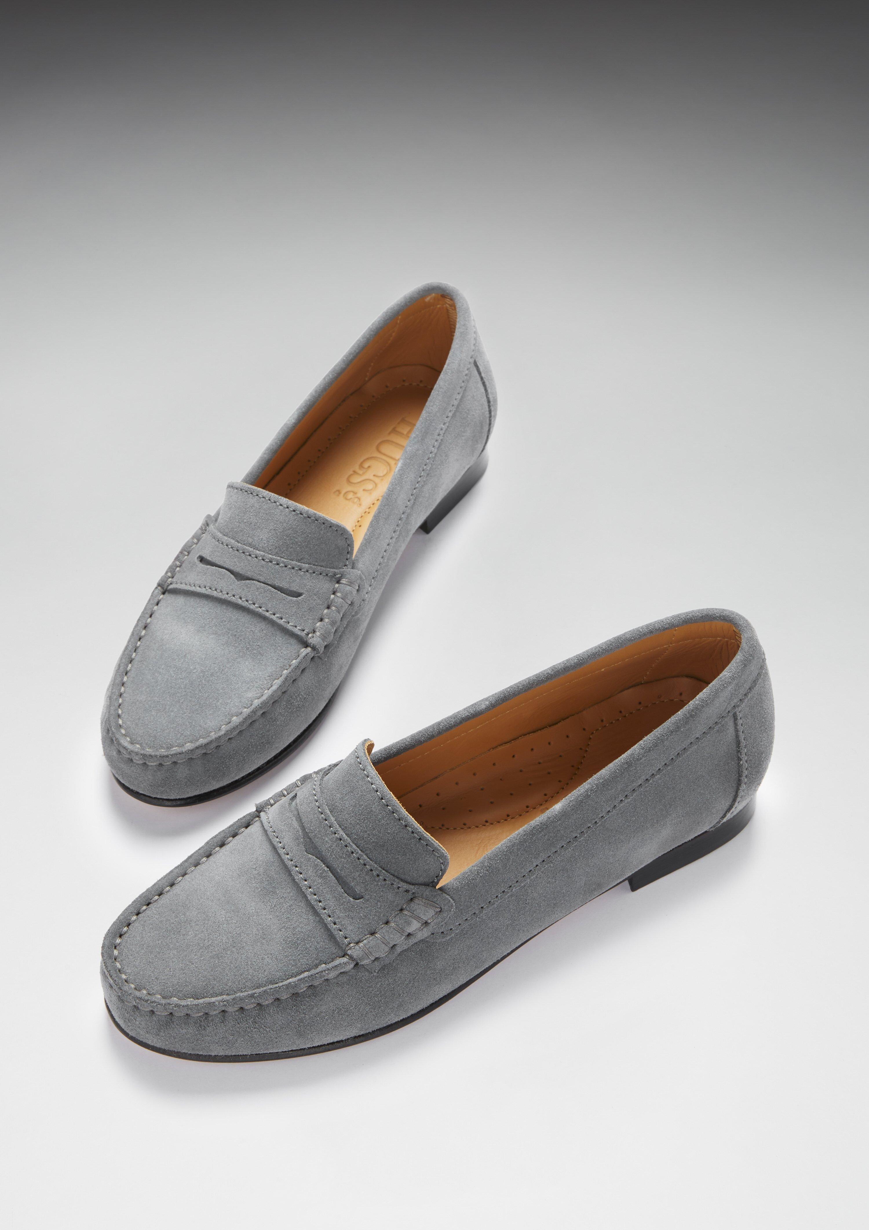 Hugs \u0026 Co Womens penny loafers leather
