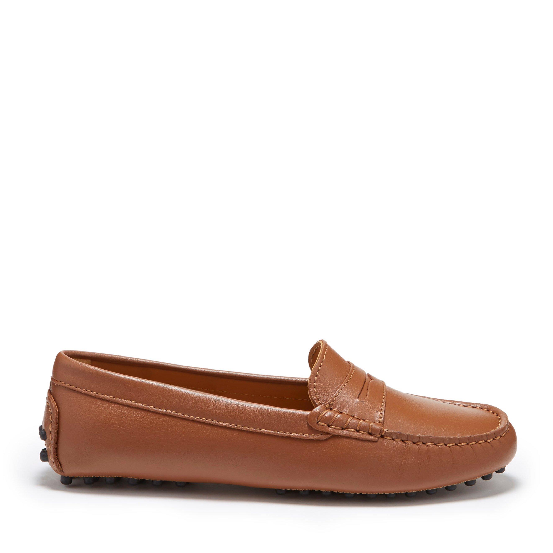 Hugs \u0026 Co Womens penny driving loafers