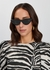 Black cat-eye sunglasses - CELINE Eyewear