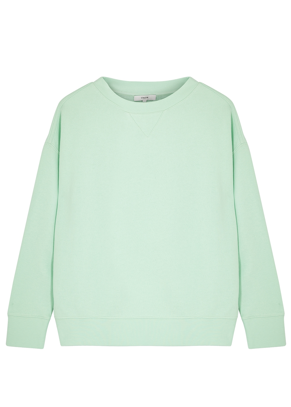 Mint cotton sweatshirt