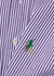 Ralph Lauren tie-embellished striped cotton shirt - 1/OFF Paris